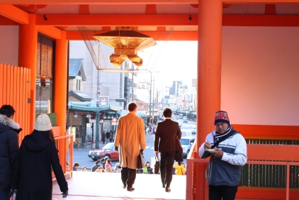 Just outside Gion, there is the busiest area along the Kamo River. (@Fashionmimo)